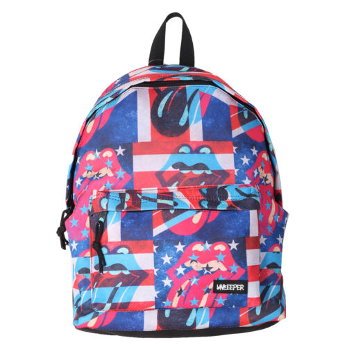 UNKEEPER Printed Unisex Lightweight Casual Ziparound Fashion Backpack