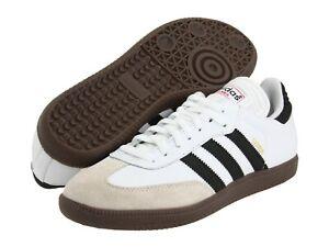 Adidas Samba Classic Mens White Leather