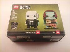 LEGO 41630 BrickHeadz Jack Skellington # 74 and Sally # 75 New Sealed