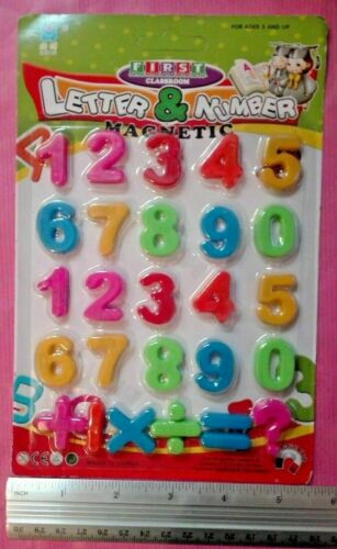 Numbers and Symbols Colorful Magnetic,Educational Toy fo kids 3 year and up