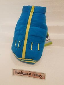 NEW-Read-TOP-PAW-for-dogs-BLUE-amp-YELLOW-ZIPPER-CARGO-VEST-JACKET-SIZE-SMALL