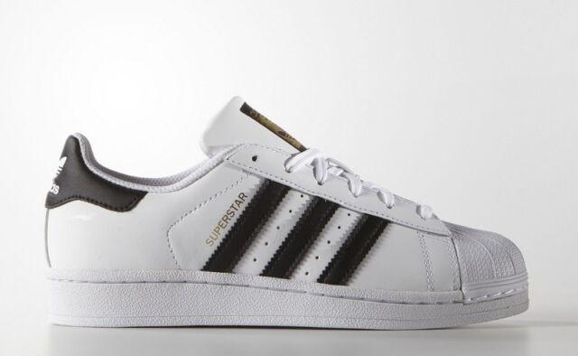 4f42cd83918 Adidas superestrella mujer Niños zapatillas Blancas negro C77154 39 ...