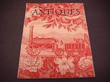 The Magazine Antiques,Feb 1938, Vol XXXIII,English Chintz,Oak Furniture Ipswich