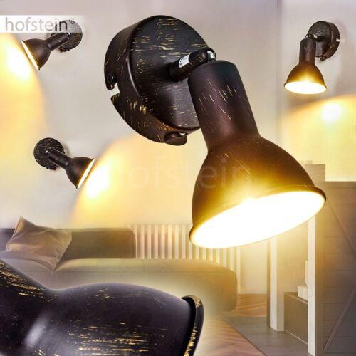 Retro Deckenleuchte Polmak Wohn Schlaf Ess Jugend Zimmer Flur Diele Loft schwarz