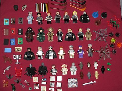 HARRY POTTER mini figurine Lot Set of 6 Ron Voldemort LEGO Compatible Blocks