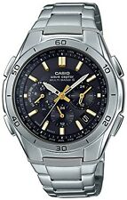 NEW CASIO WAVE CEPTOR Solar powered Radio controlled Watch Men from Japan F/S