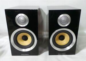 Details About B W Cm1 S2 Bookshelf Speaker Pair