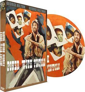 POKER WITH PISTOLS DVD George Hilton George Eastman Spaghetti Western Widescreen