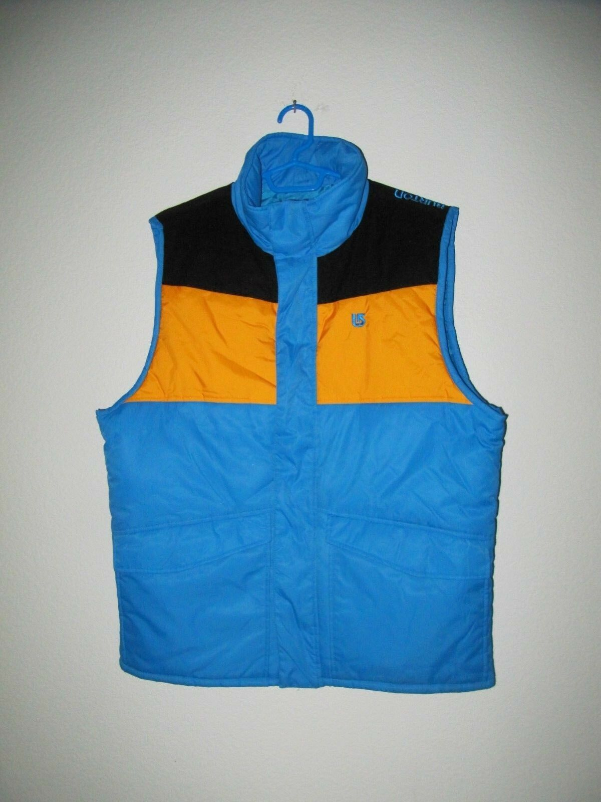 BURTON Snowboard  Puffer Winter Ski Vest - Men's Size L (50  chest)