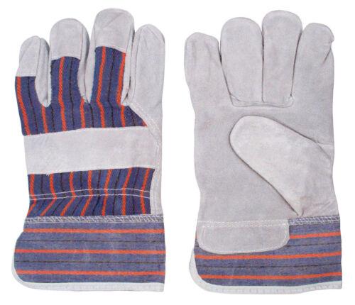 Contractor Construction Glove One Size Carpenter Big John Leather Work Glove