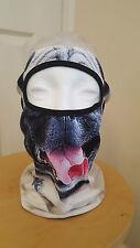 Pug Dog Face Balaclava Mask Motorcyclist Lycra Fancy dress Freaky Halloween Mask