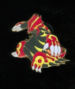 Pokemon PRIMAL GROUDON - COLLECTOR'S PIN (Release date: February 2015) - NEW
