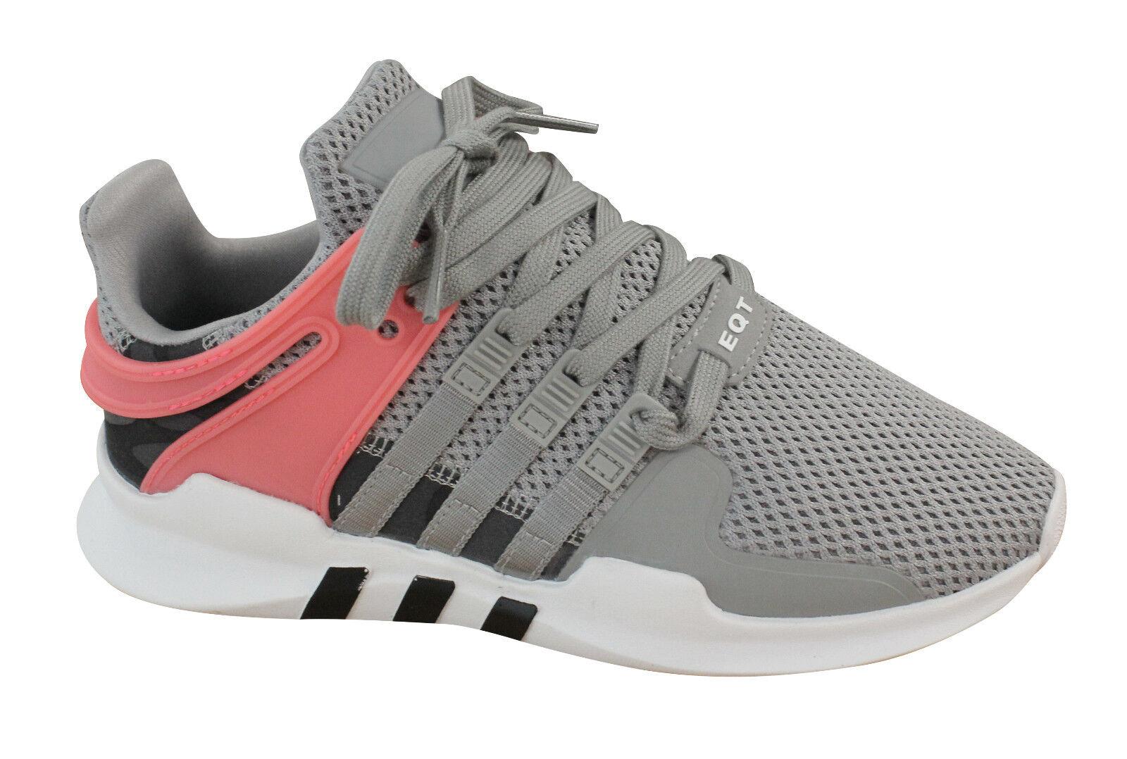 Adidas Originals EQT Support ADV Mens Grey Lace Up Trainers Solid Grey Mens BB2792 U33 f3d79e