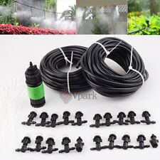 67ft Outdoor Garden Patio Water Misting Cooling System 20 Mist Sprinkler Nozzles