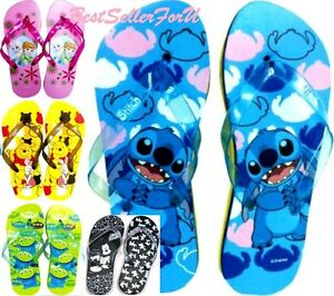 02307f7c060 Disney Flip Flops Beach Sandals Slippers Boy Men Girl Women Adult ...