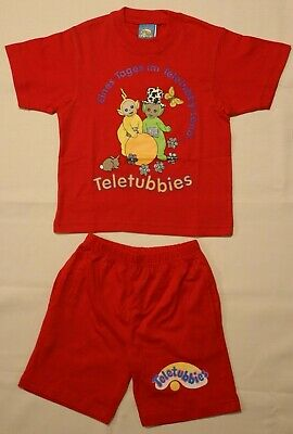 Kinderschlafanzug Unisex Pyjamateletubbies 2000s Größe 86 92 98 104 110 116