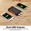 thumbnail 5 - 2000000mAh Power Bank 2USB Backup External Battery Pack Charger for Cell Phone