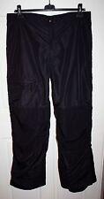 Mens Columbia Black Snow Ski Pants Size XL