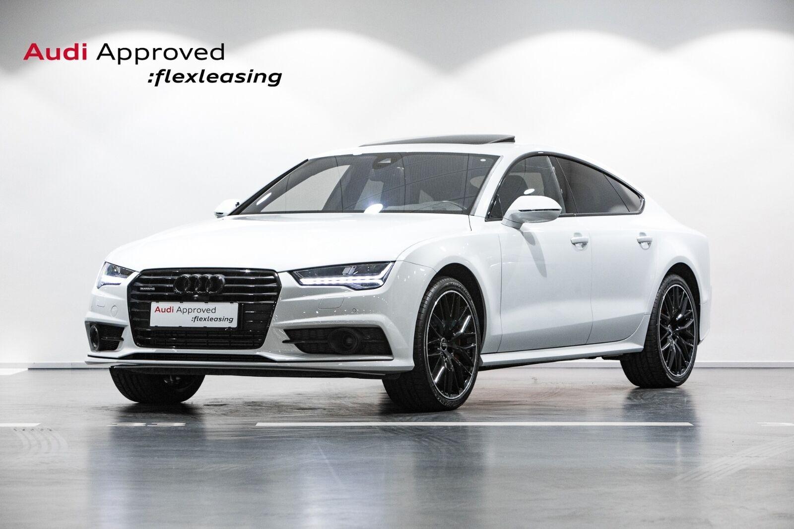 Audi A7 3,0 TDi 326 Sportback quattro Tiptr. 5d - 3.960 kr.