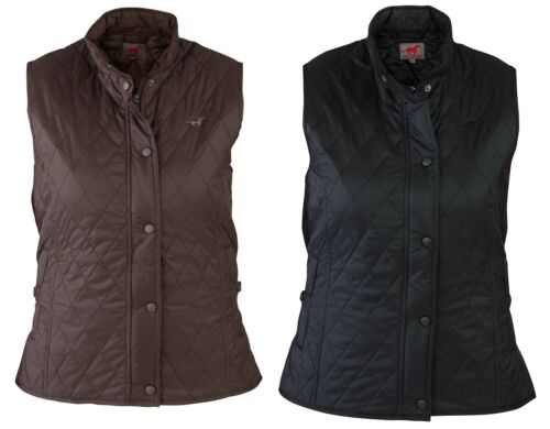 Red Horse Adults Quilted Horse Riding Bodywarmer Rhythm ALL SIZES & COLOURS