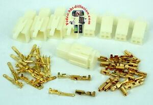 Kit-Connecteurs-Rapide-4-voies-2-8mm-E-BIKE-QUAD-CAR-MOTO