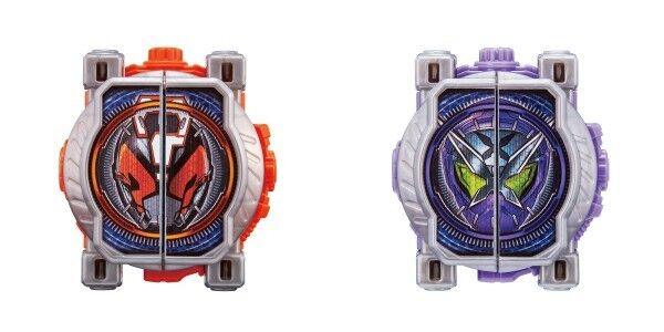 Kamen Rider Zi-O Dx Quiz & Sinobi Miride Milide Ride orologio da Giappone F S