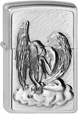 ZIPPO Feuerzeug DREAMING ANGEL m.Emblem Engel Wolke NEU OVP Sammlerstück!!