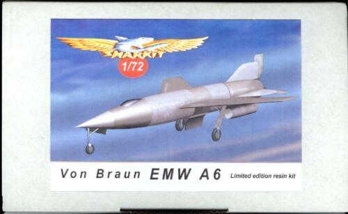 Sharkit Models 1//72 VON BRAUN EMW A6 German Hypersonic Project