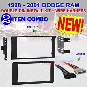 Detalles acerca de 98 99 00 01 Dodge Ram auto estéreo RADIO arnés on