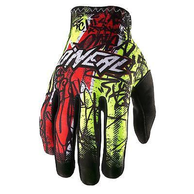 XL XXL O/'Neal AMX Handschuhe Downhill MTB BMX Mountain Bike in Rot//Grau  L