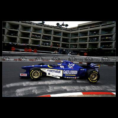#pha.034455 Photo LIGIER JS43 OLIVIER PANIS GRAND PRIX F1 MONACO 1996