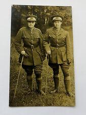 Wonderful WW1 Real Photo Postcard female soldiers in Uniform