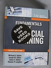 Fundamentals Of Financial Planning By Michael A Dalton 5th Edition For Sale Online Ebay