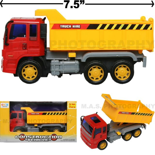 dump truck toy construction vehicle friction powered kids love them