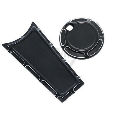 GUAIMI Fuel Tank Door Cover Dash Insert Panel for Harley Davidson Touring Electra Street Glide FLHX FLTR FLHT 2008-2018