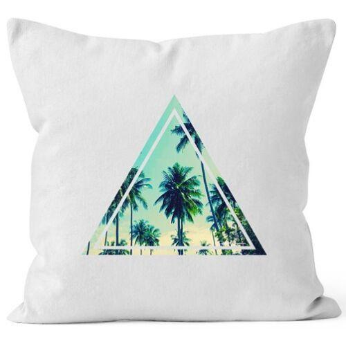 Funda de almohada foto Print piñas palmeras Galaxy verano tropical cojines decorativos 40x40