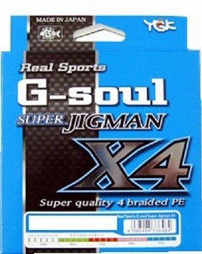 NEU YGK G-Soul Super Jigman X4 300m 40lb MultiFarbe 4 Braid Line Japan