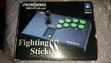 HORI Fighting Stick SS Controller HSS-07 Sega Saturn JPN Boxed COMPLETE VGC