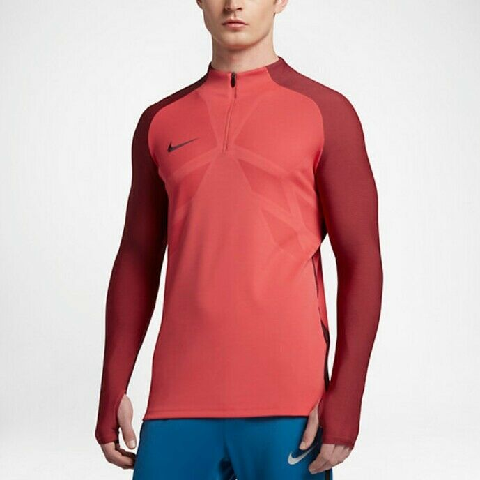 Nike Aeroswift Strike Men's 1 4 Zip Football Drill Top - 807034 602