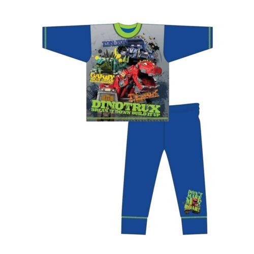 Ragazzi dinotrux Pigiama Bambini Nightwear PJ Costume Manica Lunga Camion-TON Ton GARBY