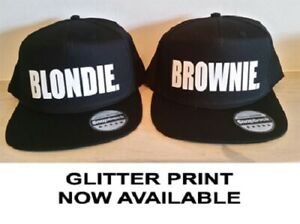 755901b1c Details about BLONDIE BROWNIE Snapback Pair Fashion PRINTED Snapback Caps  Hip-Hop Hats RAPPER