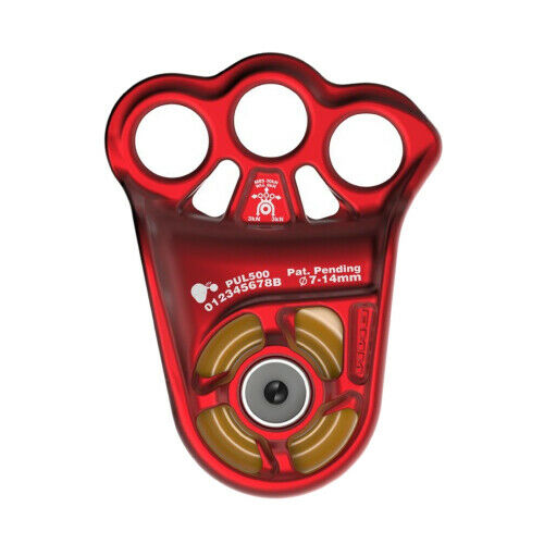 DMM Eccentric Hitch Climber Pulley Red