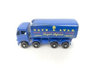 Matchbox Lesney Nº 10 Foden contenedor de azúcar Tate & Lyle (762)