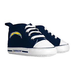 Los-Angeles-Chargeurs-la-NFL-Pre-marche-Montantes-Bebe-Chaussures-Hightops