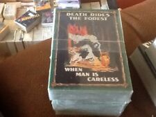 Dart Flipcards Smokey The Bear 50 Card Set