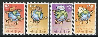Gutherzig Niederländische Antillen 2006 Planet Erde Jugend Jugendmarken 1500-1503 Mnh Europa Briefmarken
