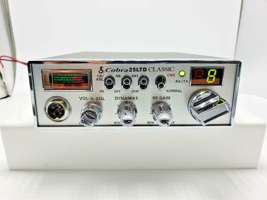 c 25 mosfet effinghamradiorepair COBRA 25 LTD CLASSIC CB RADIO PEAKED AND TUNED