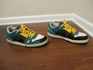 6a1b274d06f318 Used Worn Size 13 Nike Zoom Oncore 2 6.0 Shoes White Teal Yellow ...