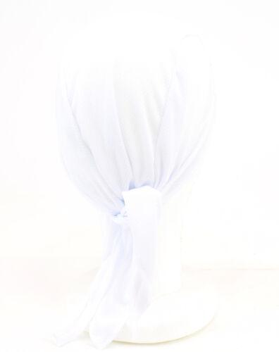 Blanc Classique HEADSWEATS Coolmax Bandana Dew Wrap Rag Neuf