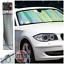 Sumex Delantero Parabrisas Parasol Bloque De Lámina láser ultravioleta pantalla para adaptarse a Bmw serie 5